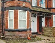 Terraced house in Abberton Road...