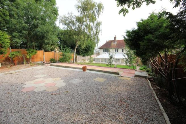 Large rear gardens