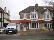 semi detached house in Sussex Road...