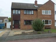 semi detached house to rent in Curlew Place, St Neots