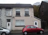 End of Terrace house in Ynyshir Road, Ynyshir...