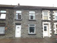 3 bed Terraced house in Wayne Street, Trehafod...