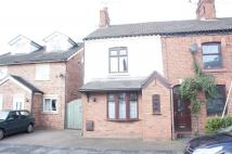 semi detached home in Henry Street, Haslington...