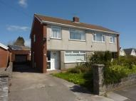 semi detached property for sale in 67 Bryn Rhedyn Pencoed...