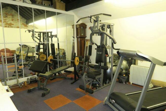 Gym in Garage