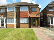 3 bedroom semi detached property to rent in Wichnor Road, Solihull