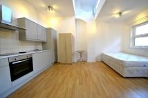 Studio flat in Holloway Road...