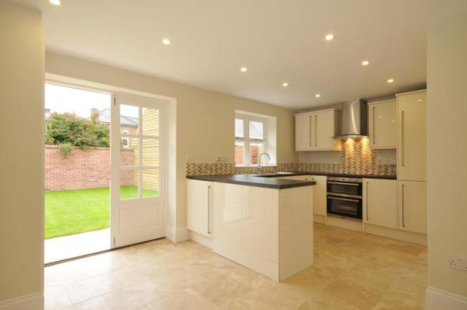 Plot 1 Kitchen