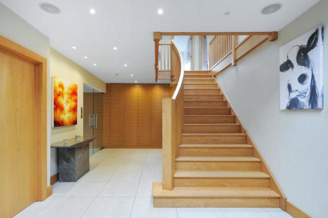 Stunning Hallway and Stairs