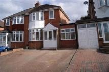 4 bedroom semi detached home to rent in Valley Road, Solihull...