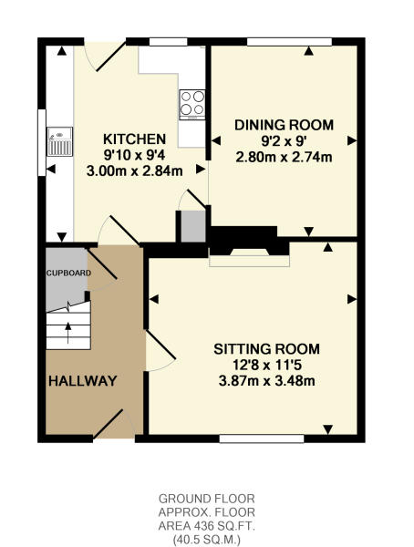 Ground floor plan...