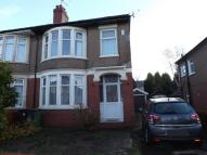 3 bedroom semi detached property for sale in Cradoc Road, Whitchurch...