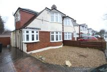 semi detached home in Devonshire Way, Shirley...