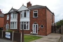 semi detached house for sale in Boundary Road, Newark...