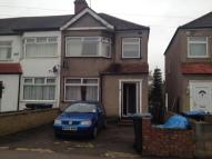 3 bed Terraced home to rent in Newbury Avenue, Enfield...