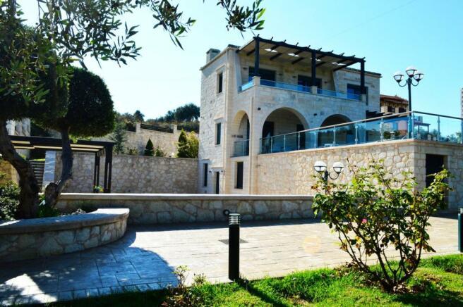 The villa