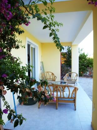 Lower veranda