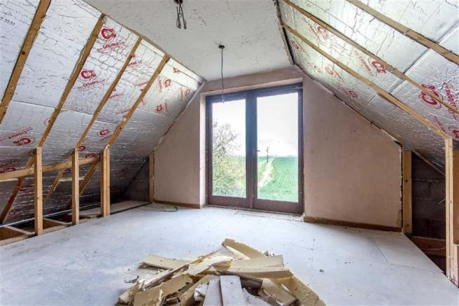 Garage/Potential Detached Two Bedroom House