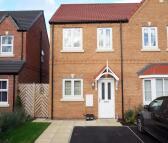 semi detached house in Whitworth Lane...