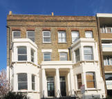 Flat in Stormont Road, Battersea...