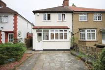 3 bedroom semi detached home in Third Avenue, Enfield...