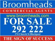 Commercial Property for sale in Fylde Coast, BLACKPOOL
