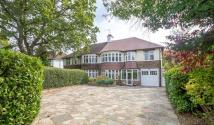 semi detached house in Addington Road...