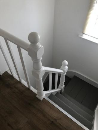 View of staircase...