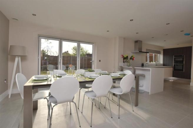 Open Plan Dining Are