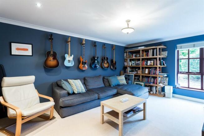 Third Reception Room/Family Room/Music Room