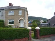 semi detached house in Brynglas Avenue, Cwmavon...