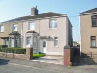 semi detached property in Glan Y Mor Avenue...