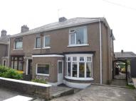 3 bed semi detached home in Wern Road, Margam...