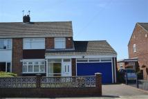 3 bed semi detached home to rent in East Herrington...