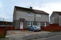 semi detached property for sale in Stafford Road, Greenock...