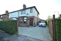 2 bedroom semi detached home in Wellington Street...
