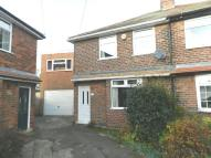 semi detached house in Grange Avenue, Breaston