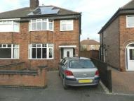 semi detached house for sale in Reedman Road, Sawley
