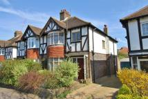 3 bed semi detached house in St. Heliers Avenue