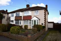 3 bedroom semi detached property in Chiltern Road, Caversham...