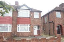 semi detached house in Torrington Drive...