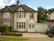 3 bed semi detached property in Beechwood Avenue...