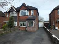 semi detached property for sale in Storridge Road, Westbury...