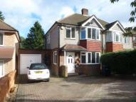 semi detached home for sale in Chestnut Grove...