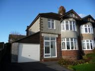 3 bed semi detached house in Chesterfield Road...
