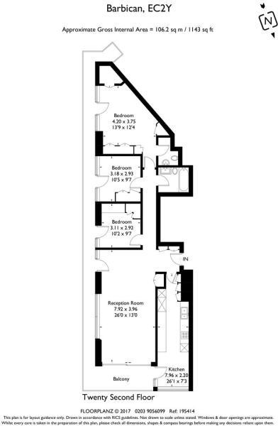 Cromwell Tower Flat 221 195414 fp-A4 Portrait.jpg