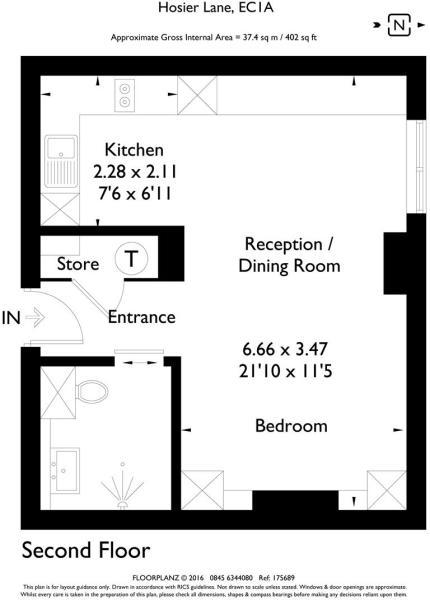 10 Hosier Lane Apartment 203 175689 fp-A4 Portrait