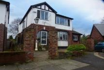Detached house in West End Avenue, Gatley...