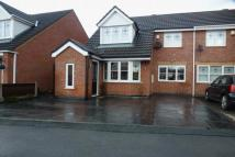 semi detached house in Chedworth Drive, Baguley...