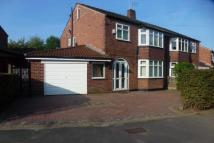 4 bedroom semi detached home in Lorna Grove, Gatley...